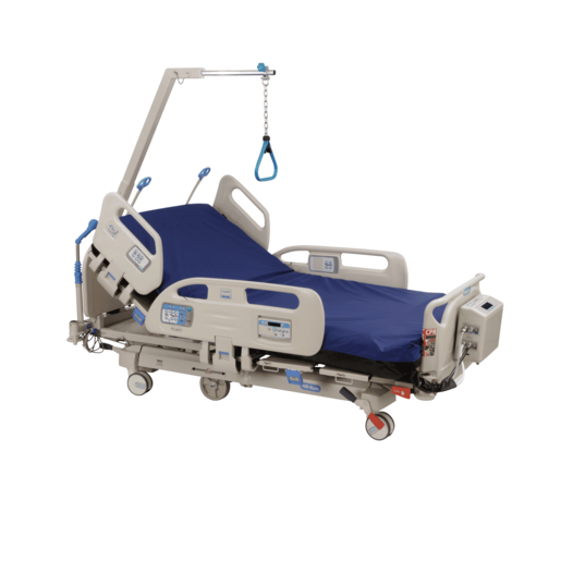 Compella™ Bariatric Bed with Foam Mattress and Trapeze