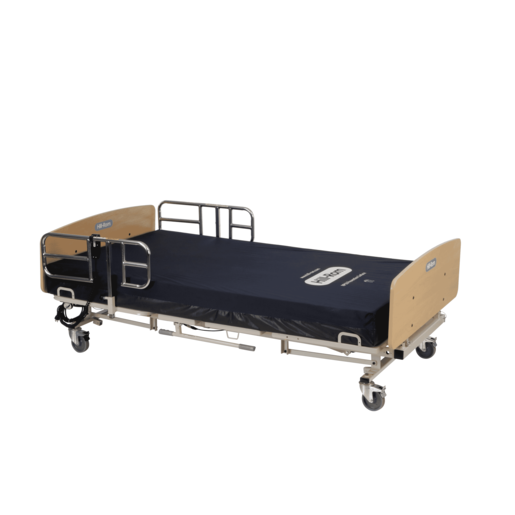 "48"" Bariatric Bed with Foam Mattress"