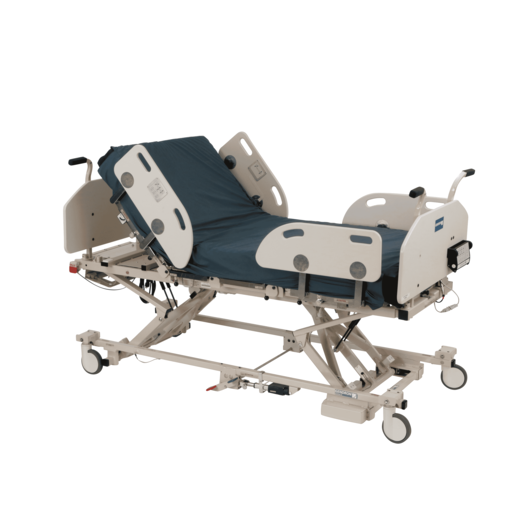 Sentinel II Bariatric Low Bed with Foam Mattress